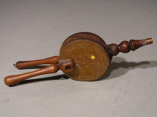 An Unusual Set of Late 19th Century Carved Bellows (1 of 4)