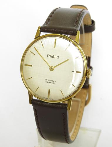Gents 1960s Realm Wrist Watch (1 of 5)