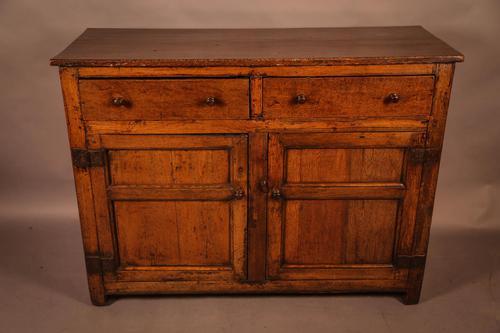 Small Georgian Oak Serving Dresser (1 of 9)
