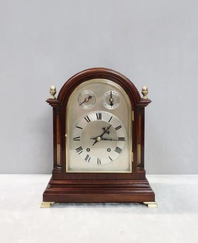 German Mahogany Ting Tang Striking Bracket Clock by W&H, 1890 (1 of 8)