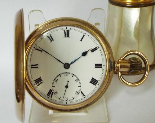 Antique Limit Full Hunter Pocket Watch (1 of 6)