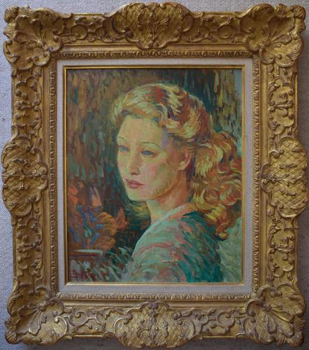 Paul Bret Agnès 1945 French Post Impressionist (1 of 8)