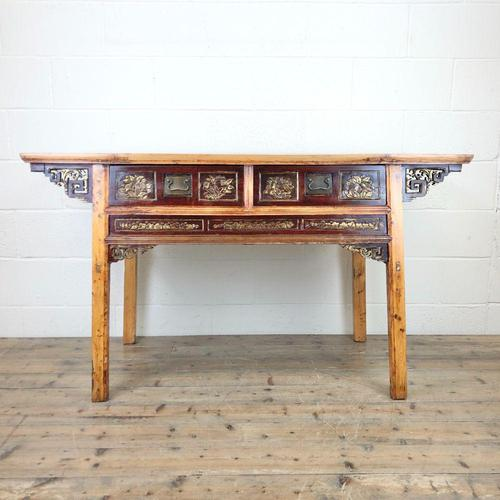 Chinese Elm Sideboard (1 of 9)