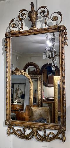 Louis XVI Giltwood Mirror (1 of 4)