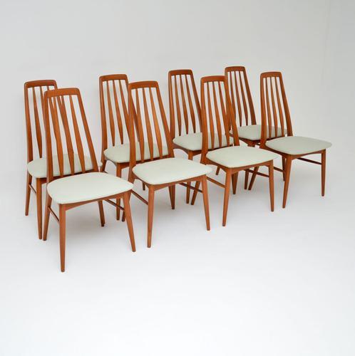 Set of 8 Danish Teak Vintage Dining Chairs by Nil Kofoed (1 of 11)