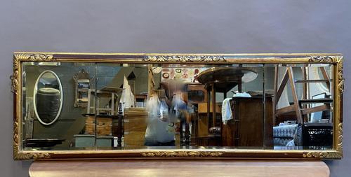 George II Design Overmantle Mirror c.1920 (1 of 14)