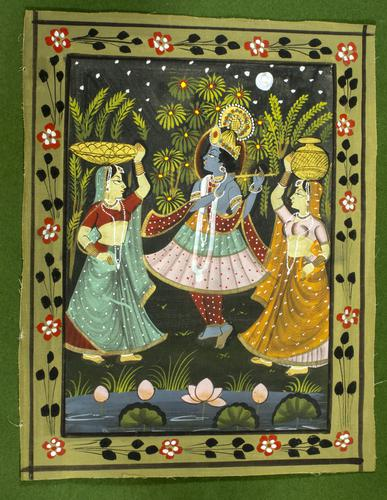 Pichwai Painting Of Krishna And Radha (1 of 1)