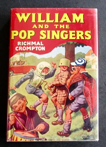 1965 1st Edition - William & The Pop Singers by Richmal Crompton (1 of 4)