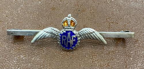 Silver & Enamel Royal Air Force Brooch (1 of 2)
