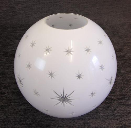 Antique Opaque Oil Lamp Shade / Globe (1 of 4)