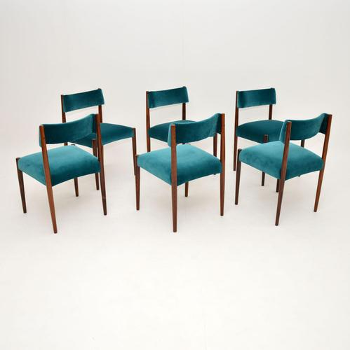 6 Vintage Rosewood Dining Chairs by Robert Heritage for Archie Shine (1 of 13)