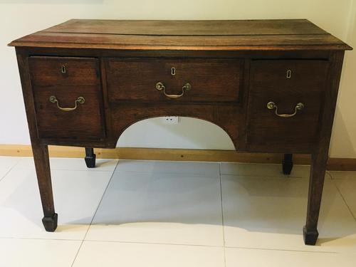 Wonderful George III Oak Sideboard Server / Buffet with Rare Cellaret Drawer c.1760-1820 (1 of 12)