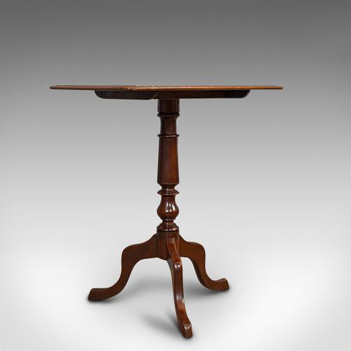 Antique Wine Table, English, Mahogany, Side, Lamp Stand, Victorian c.1870 (1 of 10)