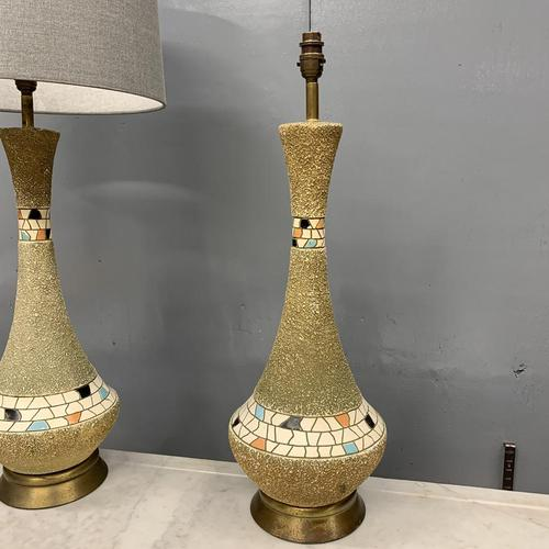 Pair of Vintage Moroccan Style Lamps (1 of 8)