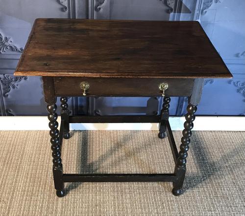 Oak Hall Table (1 of 9)