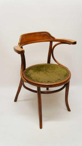 Early 20th Century  Bentwood Office Chair (1 of 15)