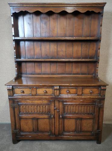 Titchmarsh Goodwin Period Style Carved Solid Oak Dresser (1 of 8)
