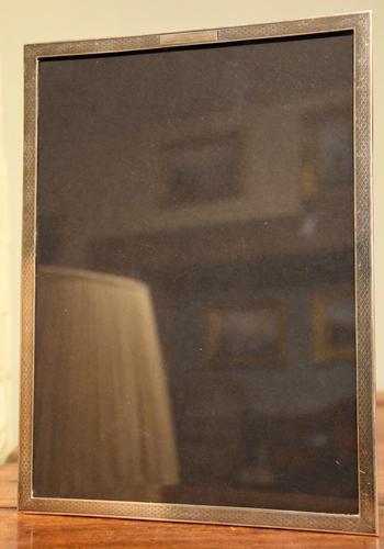 Art Deco Silver Frame JW Tiptaft & Son Ltd (1 of 3)