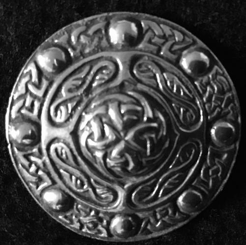 Silver Celtic Brooch by Charles Horner (1 of 6)