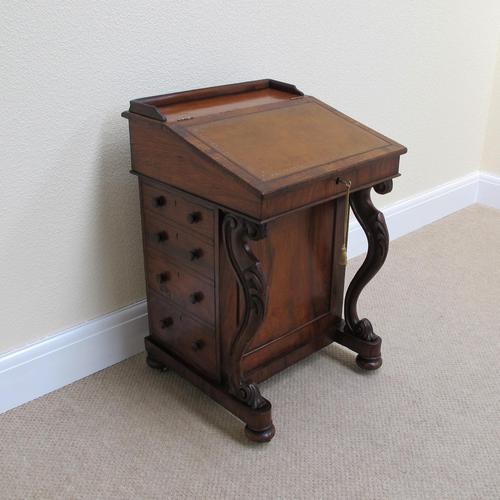 Walnut Davenport Desk (1 of 9)