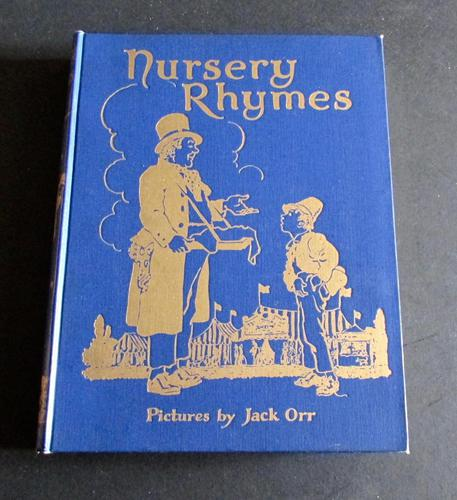1930 Nursery Rhymes Illustrated by Jack Orr,  Rare Paramount Series (1 of 7)