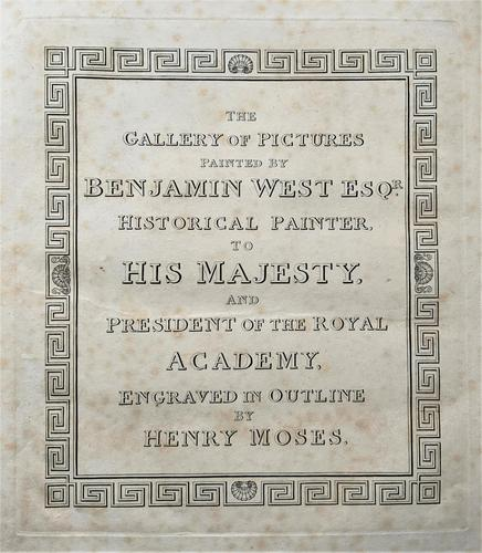 Gallery of 14 Historical Engravings Painted by Benjamin West (1 of 33)
