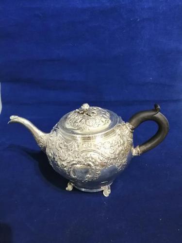 Beautiful Georgian Teapot (1 of 13)