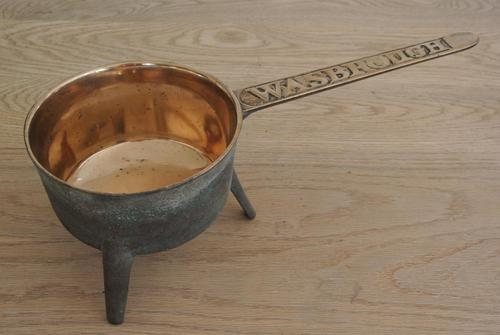 18th / Early 19th Century Bronze Skillet by Wasbrough of Bristol Sauce Pan (1 of 6)