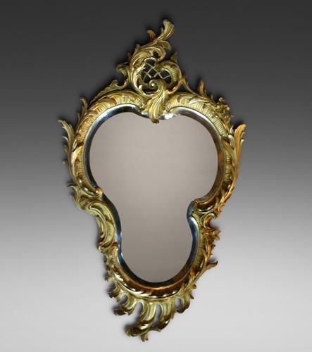 Superb 19th Century Gilt Frame Wall Mirror (1 of 4)
