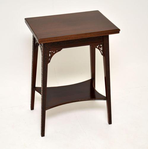 Antique Mahogany Tea / Card Table (1 of 12)