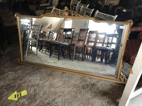 Large gilt mirror (1 of 6)