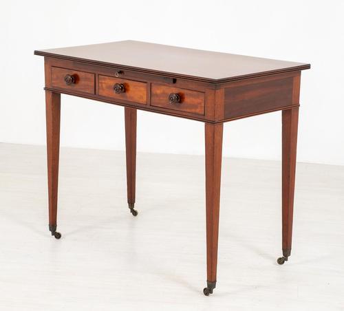 Regency Mahogany Elegant Side Table (1 of 7)