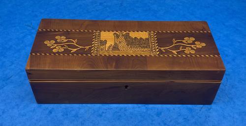 Victorian Irish Killarney Ware Glove Box (1 of 12)