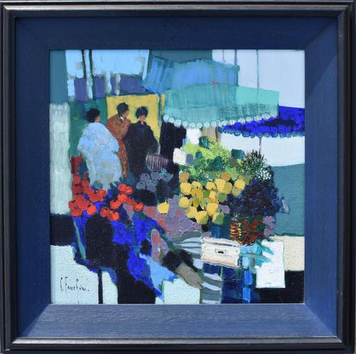 Claude Fauchere French Abstract Impressionist (1 of 9)