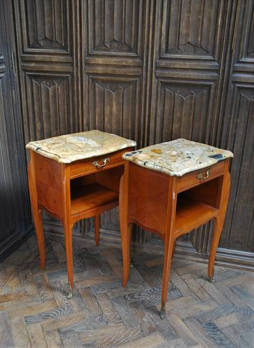 Superb Pair of French Bedside Cabinets (1 of 10)