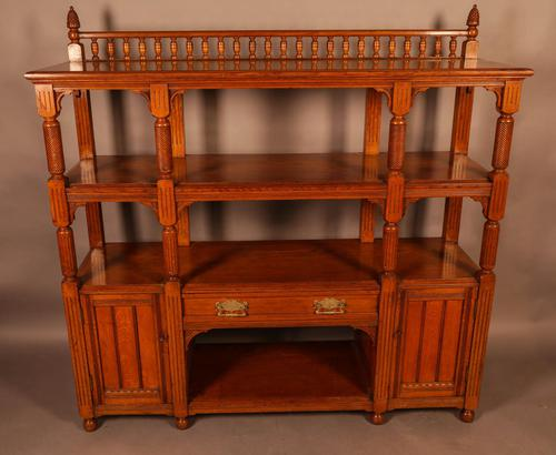 Good Victorian Buffet or Serving Sideboard (1 of 8)