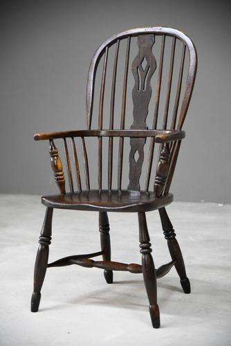 Antique Country Windsor Chair (1 of 12)