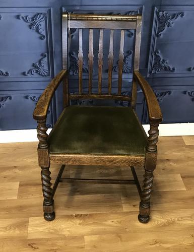 Oak Armchair (1 of 7)