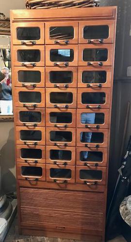 Haberdashers Cabinet (1 of 6)