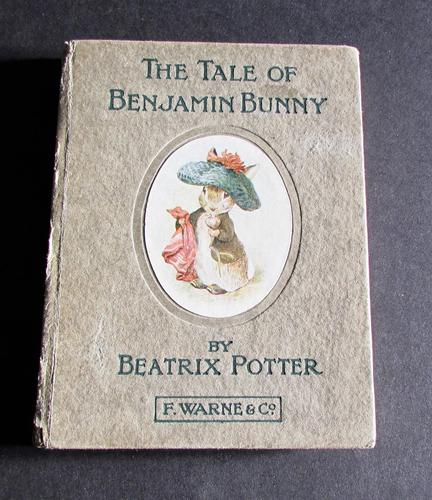 1904 The Tale of Benjamin Bunny by Beatrix Potter 1st Edition (1 of 6)