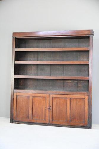 Large Antique Mahogany Dresser (1 of 12)