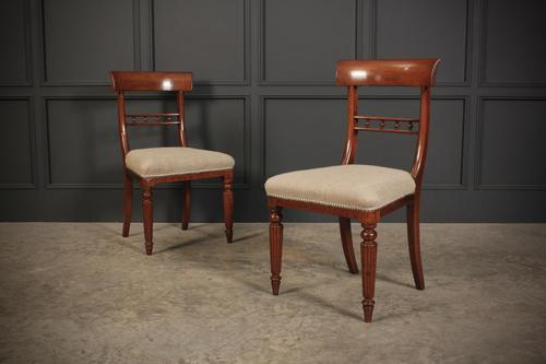 William IV Pair of Mahogany Chairs (1 of 13)