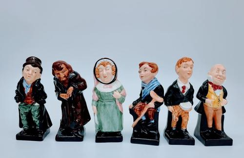 Six Royal Doulton Figurines (1 of 8)