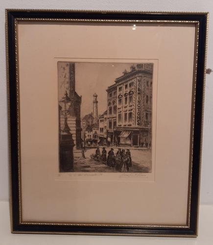 Limited Edition Etching by JF Primm, Birmingham (1 of 4)