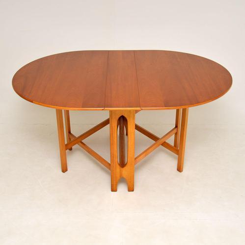 Vintage Teak Drop Leaf Dining Table (1 of 9)
