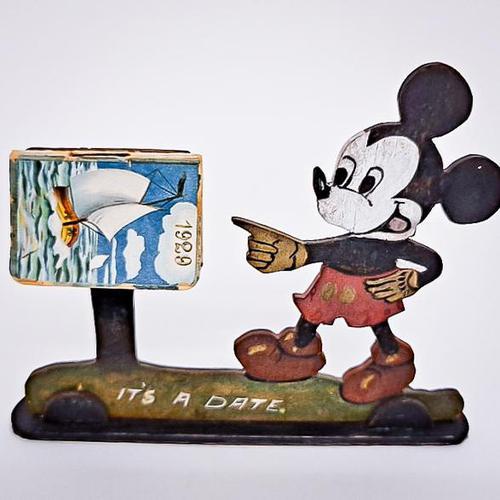 Mickey Mouse Calendar (1 of 5)