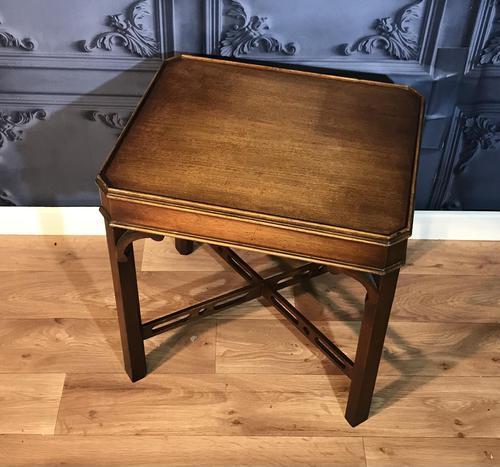 Georgian Style Mahogany Lamp Table (1 of 5)