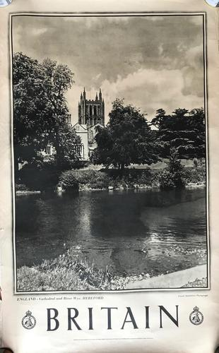 9 Original  Photogravure Printed Travel Posters from the Series 'Britain' by the Travel Association (1 of 18)