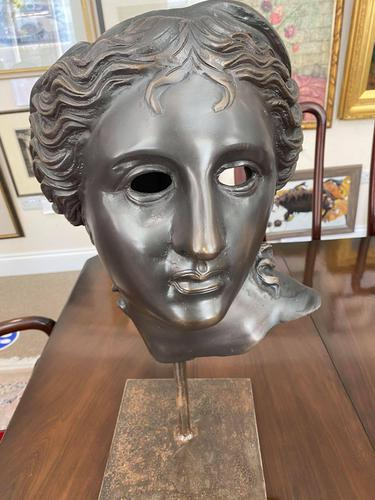 Aphrodite Bronze Head (1 of 5)