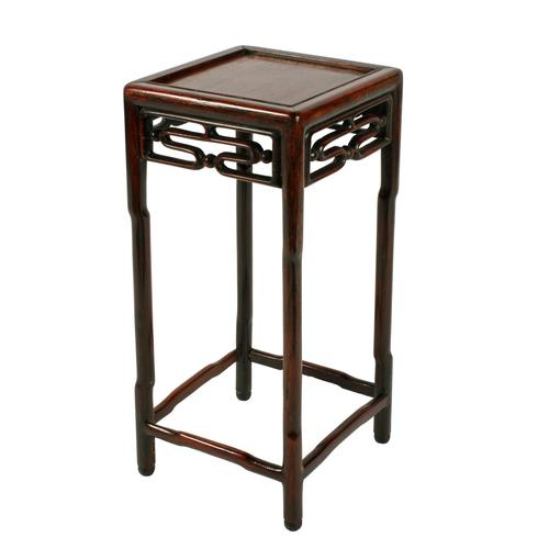 Chinese 19th Century Rosewood Stand (1 of 7)